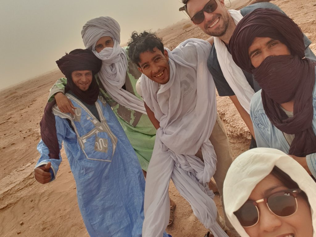 With Nomads of the Desert